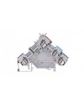 Złączka szynowa (do wyłączników ciśnieniowych i termicznych) 2, 5mm2 szara 280-562 280-560