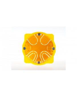 Puszka 67mm p/t regips 50mm żółty Batibox 080051