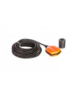 Wyłącznik pływakowy z przewodem NEOPREN 10m do wody czystej i szarej z przeciwwagą LVFSN1W10