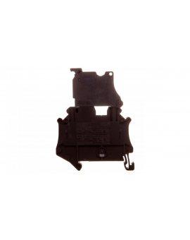 Złączka szynowa z bezpiecznikiem 5x20 2-przewodowa 0, 14-6mm2 czarna UT 4-HESILED 24 (5x20) 3046090