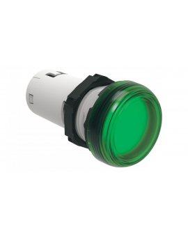 Lampka sygnalizacyjna LED jednoczęściowa zielona 24V AC/DC LPMLB3