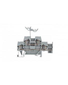 Złączka szynowa 2-piętrowa 2, 5mm2 L / L szara 280-520