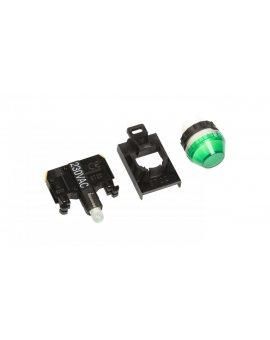 Lampka sygnalizacyjna 22mm zielona 230V AC LED ST22-LZ-230-LED\AC