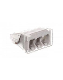 Szybkozłączka 3-torowa 0, 5-2, 5mm2 450V 24A jasnoszara 61 325 LGR 2054485 /100szt./
