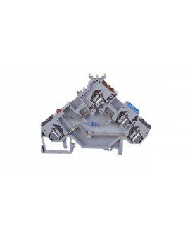 Złączka szynowa z LED do czujnikow PNP 2, 5mm2 szara 280-560/281-434