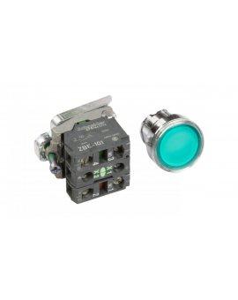 Przycisk sterowniczy 22mm zielony z samopowrotem z podświetleniem 1Z 1R XB4BW33B5
