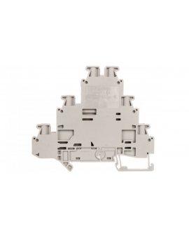 Złączka szynowa 3-piętrowa 6-przewodowa 2, 5mm2 szara UT 2, 5-3PV 3214262