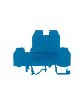 Złączka szynowa gwintowa 2-piętrowa 2, 5mm2 niebieska VS 2, 5 NA N 03901244