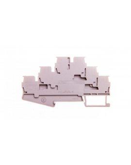 Złączka szynowa 3-piętrowa 0, 08-4mm2 szara ST 2, 5-3L 3036042