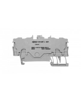 Złączka 4-przewodowa 1, 5mm2 diodowa szara TOPJOBS 2001-1411/1000-411