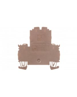 Złączka szynowa 2-piętrowa 4-przewodowa 2, 5mm2 beżowa ATEX WDK 2.5N 1041600000