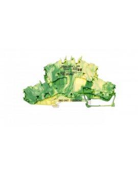 Złączka szynowa 2-pietrowa 2, 5mm2 żółto-zielona 2002-2407 TOPJOBS