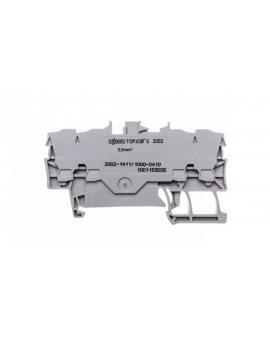 Złączka 4-przewodowa 2, 5mm2 diodowa szara TOPJOBS 2002-1411/1000-410