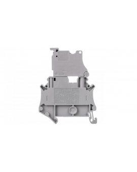 Złączka szynowa z bezpiecznikiem 5x20 6, 3A 2-przewodowa 4mm2 szara UT 4-HESI (5X20) 3074169