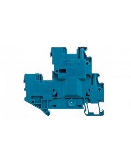 Złączka szynowa 2-piętrowa 2,5mm2 śrubowa/wtykowa niebieska UTTB 2,5/2P-PV BU 3060487 /50szt./