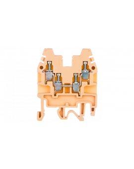 Złączka szynowa 2-torowa 2, 5mm2 beżowa CBR.2 I-CR1100000000000