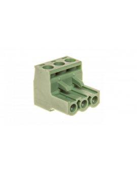 Złączka wtykowa do płytek drukowanych biało-zielona BCP-508- 3 GN 5441977 /100szt./