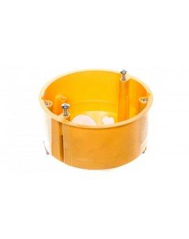 Puszka uniwersalna fi 73mm żółta KU 68 LD/1 NA