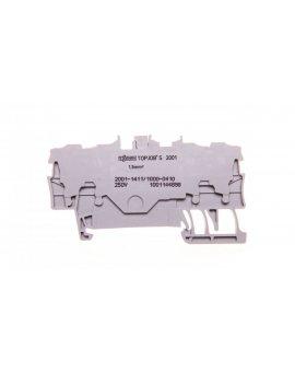 Złączka 4-przewodowa 1, 5mm2 diodowa szara TOPJOBS 2001-1411/1000-410 /100szt./