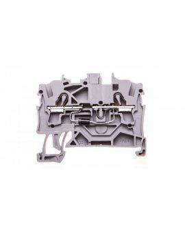 Złączka 2-przewodowa 2, 5mm2 diodowa szara TOPJOBS 2002-1211/1000-411 /100szt./