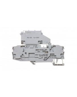 Złączka 2-przewodowa 6mm2 bezpiecznikowa szara TOPJOBS 2006-1611/1000-541 /25szt./