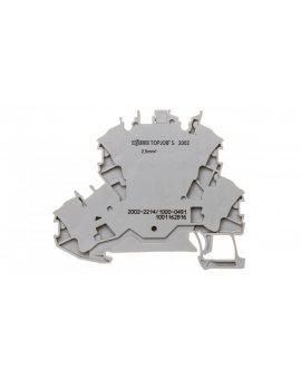 Złączka 2-piętrowa 2, 5mm2 diodowa szara TOPJOBS 2002-2214/1000-491