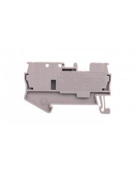 Złączka szynowa rozłączna 2-orzewodowa 0, 08-4mm2 szara ST 2, 5-TG 3038435 /50szt./