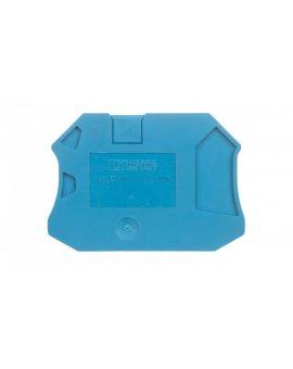 Pokrywa zamykająca niebieska D-UT 2, 5/4-TWIN BU 3047142 /50szt./