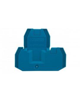 Pokrywa zamykająca niebieska D-UTTB 2, 5/4 BU 3047455 /50szt./