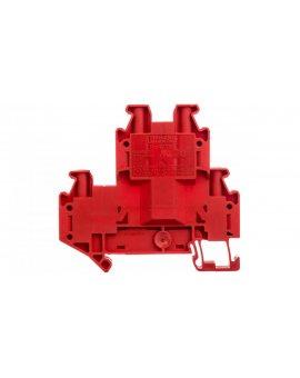 Złączka szynowa 2-piętrowa 4-przewodowa 4mm2 czerwona Ex UTTB  4 RD 3046786