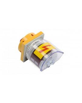 Łącznik krzywkowy awaryjny 0-1 3P 25A do wbudowania 4G25-10-U S25 63-241674-031