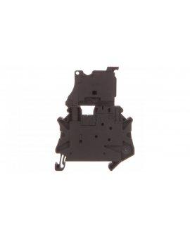 Złączka szynowa z bezpiecznikiem 5x20 6, 3A 2-przewodowa 4mm2 czarna UT 4-HESILED 24-P/P 3046540 /50szt./