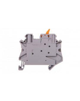 Złączka przelotowa 2-przewodowa z odłącznikiem nożowym 4mm2 szara UT 4-MTL 3046144 /50szt./