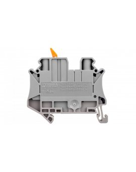 Złączka przelotowa 2-przewodowa z odłącznikiem nożowym 6mm2 szara UT 6-MTL 3046145 /50szt./