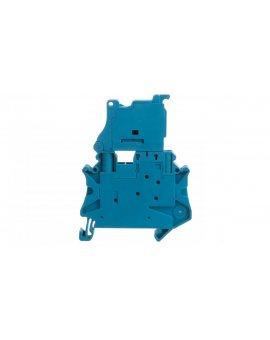 Złączka szynowa rozłączalna 2-przewodowa 4mm2 niebieska UT 4-HEDI BU 3046456