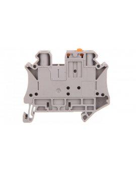 Złączka przelotowa 2-przewodowa z odłącznikiem nożowym 6mm2 szara UT 6-MT 3064069 /50szt./
