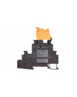 Złączka szynowa rozłączalna 4-przewodowa 4mm2 czarna UT 4-L/HEDI 3214326 /50szt./