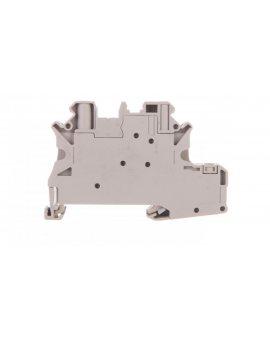 Złączka szynowa elementów kontrolnych 2-przewodowa 4mm2 szara UT 4-PE/L-DIO/L-R P/P 3046834 /50szt./