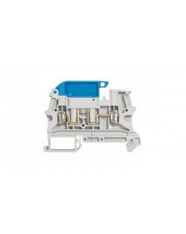 Złączka szynowa rozłączalna 2-przewodowa obwód N 2, 5mm2 szara 037182