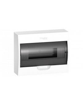 Rozdzielnica modułowa 1x12 natynkowa IP40 drzwi transparentne Easy9 EZ9E112S2S