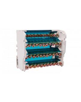 Blok listew rozdzielczych 4-biegunowy 125A EBR 4-11/125 R33RA-02020200201