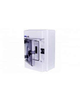 Rozdzielnica hermetyczna modułowa (500V AC , 1000V DC) 1x4 natynkowa IP65 RH-4 36.04