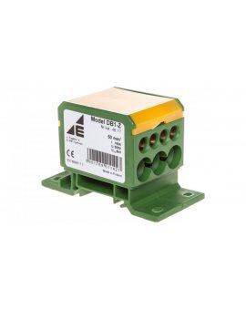 Blok rozdzielczy 2x4-50mm2 + 3x2, 5-25mm2 + 4x2, 5-16mm2 żółto-zielony DB1-Z 48.17