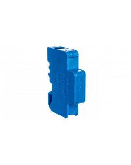 Blok rozdzielczy modułowy 1-biegunowy 125A we: 1x16-35mm2 wy: 6x1, 5-6mm2 niebieski LBR60A 84326003