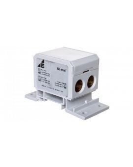 Blok rozdzielczy 2x4-50mm2 + 3x2, 5-25mm2 + 4x2, 5-16mm2 szary DB1-S 48.14