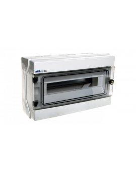 Rozdzielnica hermetyczna modułowa (500V AC , 1000V DC) 1x18 natynkowa IP65 RH-18/Z (z zamkiem) 36.19