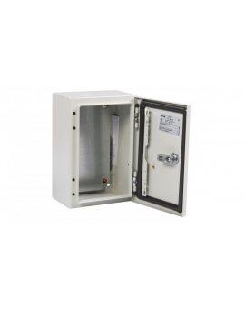 Obudowa CS 300x200x150mm IP66 z płytą montażową CS-32/150 111647