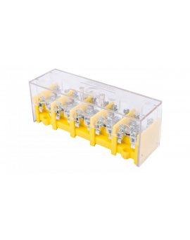 Odgałęźnik instalacyjny 5-torowy (zacisk: 5x25mm2 - 5x4x10mm2) LZ5x25/10 wyk.11P 84061004