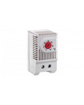 Termostat Jednofunkcyjny do sterowania pracą grzałki NC 230VAC zakres 0-60 stopni C 230VAC JWT6011R