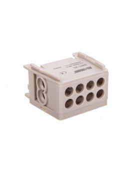 Blok rozdzielczy kompaktowy BRC 25-1/2 szary R33RA-02030000101